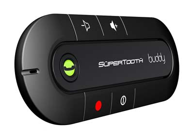 3. SuperTooth Car Bluetooth Speakerphone