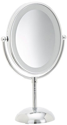 Top 10 best makeup led mirrors in 2018 reviews conair lighted makeup mirror double sided mozeypictures Image collections