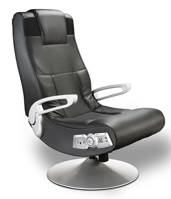 8. Ace Bayou X Rocker 5127401 Wireless Black Gaming Chair