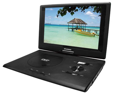 "6. Sylvania SDVD 1332 DVD Player (13.3"")"
