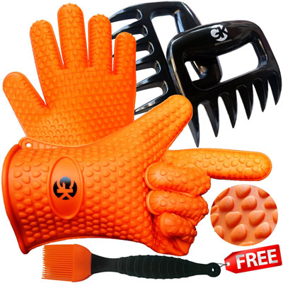 2. Grace Kitchenwares BBQ/Cooking Gloves