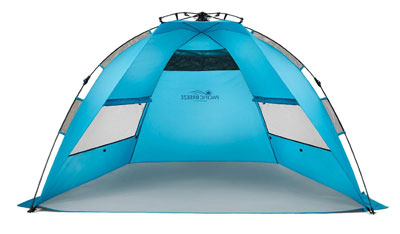 2. Pacific Breeze Products Easy Up Beach Tent
