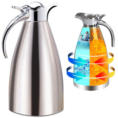 6. Panesor 68Oz Stainless Steel Thermal Coffee Carafe