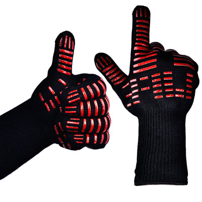 1. TTLIFE BBQ Grilling Gloves