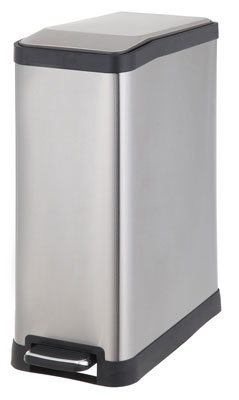 5. Home Zone 45-Liter Rectangular Step Trash Can