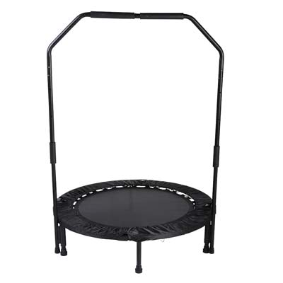 6. Sunny Health & Fitness Trampoline with Bar
