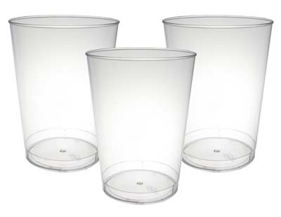 5. 10-Ounce Hard Plastic Tumblers by Party Essentials