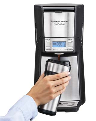 7. Hamilton Beach 48465 Coffee Maker