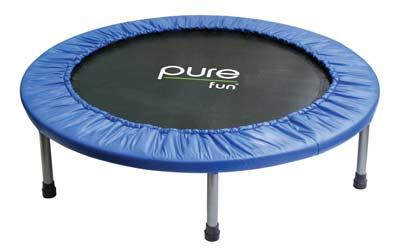 9. Mini Trampoline by Pure Fun
