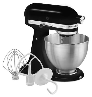 5. KitchenAid K45SSOB Stand Mixer