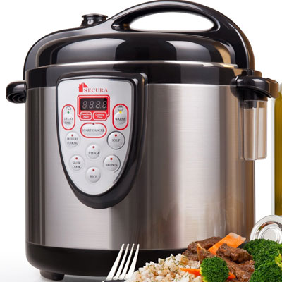 9. Secura Electric Pressure Cooker