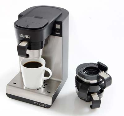 1. BUNN Single Cup Home Coffee Brewer