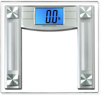 7. BalanceFrom Digital Bathroom Scale (4.3-inch Backlight Display)