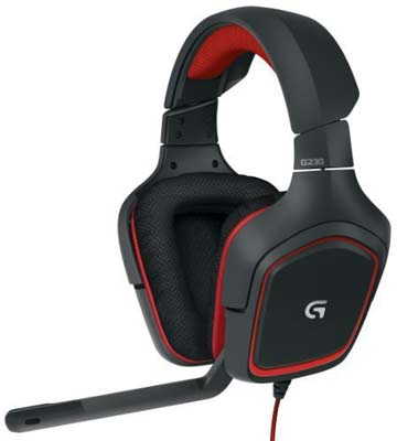 2. Logitech Stereo Gaming Headset (G230)