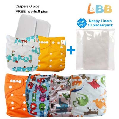 3. LBB Baby Cloth Pocket Diapers