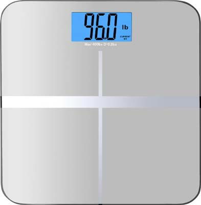 6. BalanceFrom Digital Bathroom Scale (3.6-inch Dual Color Display)