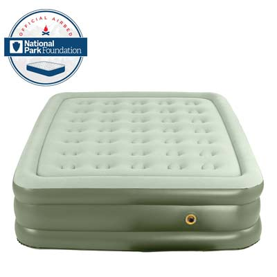 1. Double High Airbed by Coleman