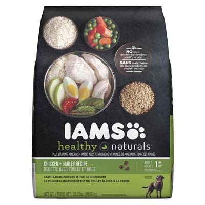 3. IAMS HEALTHY NATURALS Dry Dog Food