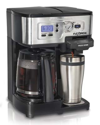 6. Hamilton Beach 49983A Single Serve Coffee Maker