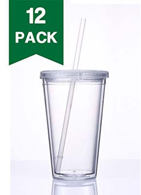 Top 10 Best Clear Plastic Tumblers In 2018 Reviews