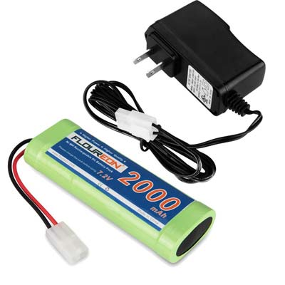 6. FLOUREON 6 Cell Rechargeable Battery