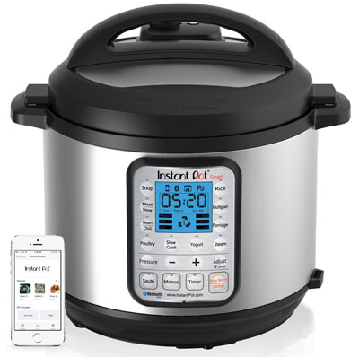 3. Instant Pot IP-Smart Pressure Cooker