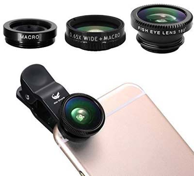 Top 10 Best Cell Phone Camera Lens for Smartphone in 2017 Reviews