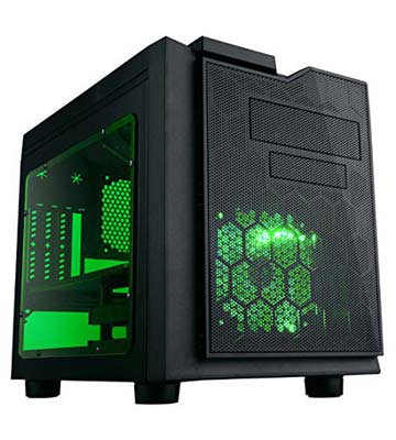 6. APEVIA X-QPACK3-GN Gaming Case