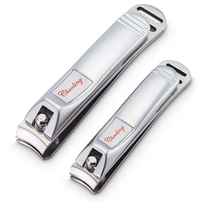 1. Chooling Fingernail and Toenail Clippers Set