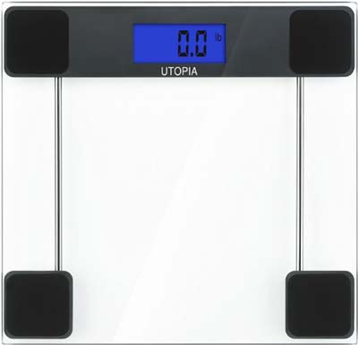2. Utopia Care Digital Bathroom Scale