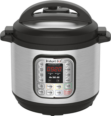 1. Instant Pot IP-DUO80 Electric Pressure Cooker