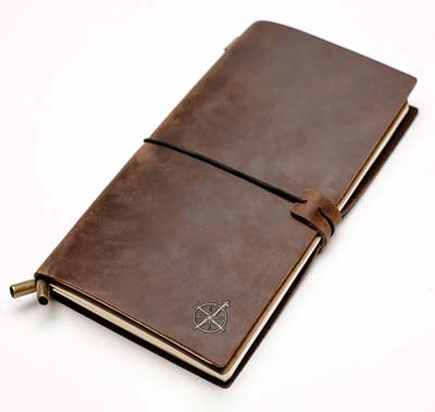 3. Leather Notebook Journal