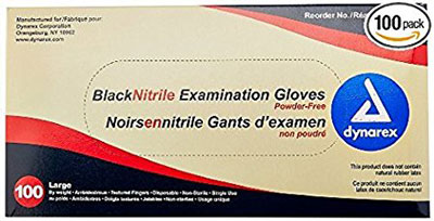 9. Dynarex 2523 Nitrile Gloves