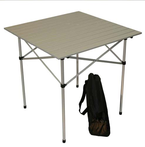5. Table in a Bag Tall Aluminum Portable Table