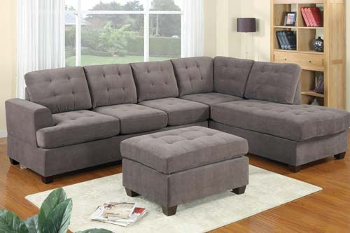 4. 3pc Modern Sofa Couch