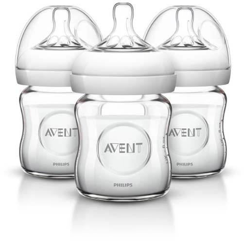1. Philips AVENT Glass Baby Bottle