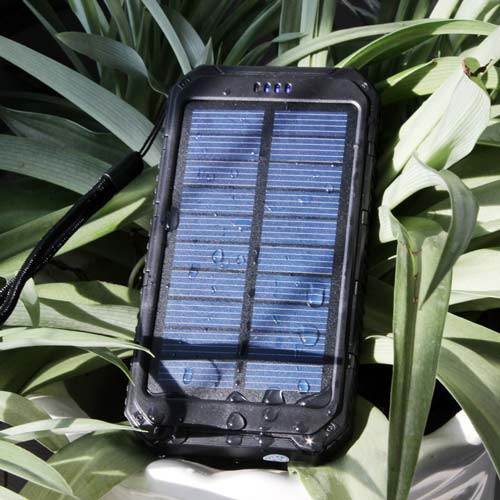 6. Solar Charger Portable Power Bank