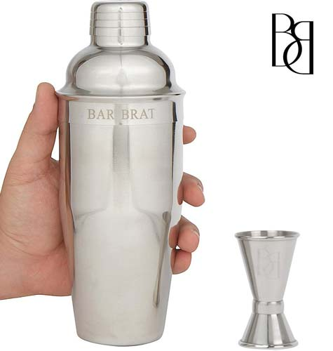6. Premium SST Cocktail Shaker & 24.oz Mixer Set