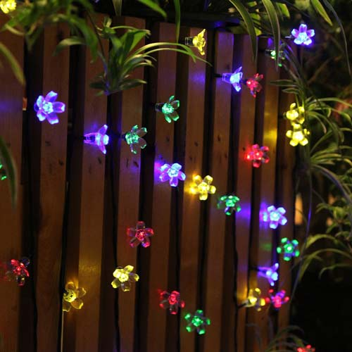 Top 6 best outdoor camping lights in 2018 reviews solar string lights outdoor flower fairy light mozeypictures Gallery