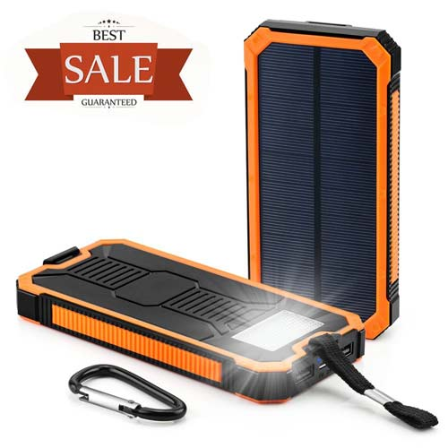 2. Solar Cell Phone Charger, Grandbeing