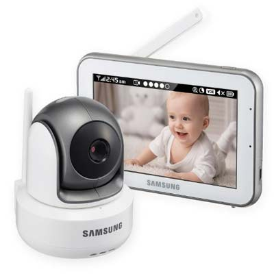6. Samsung SEW-3043W Baby Video Monitoring System
