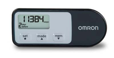 2. Omron Tri Axis Pedometer