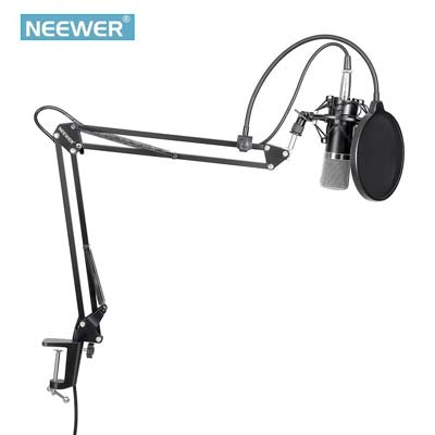 2. Neewer Broadcasting Recording Condenser Microphone