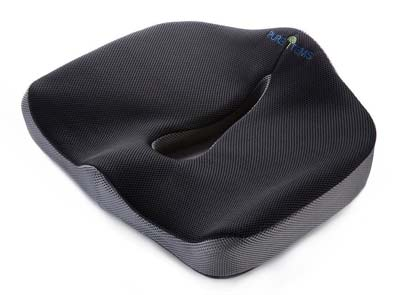 I-PURE ITEMS TM Coccyx Orthopedic Seat Cushion - Top 10 Best Orthopedic Seat Cushions For Chairs In 2017 Reviews