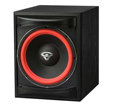 7. Cerwin-Vega XLS-12S Powered Subwoofer