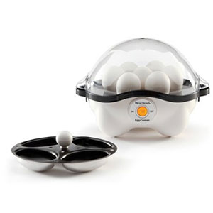 3. Focus Electrics, LLC Automatic Egg Cooker (86628)