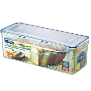 10. LOCK & LOCK Airtight Rectangular Food Storage Bread Box