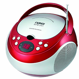 10. Naxa Electronics Portable CD Player (NPB-251RD)