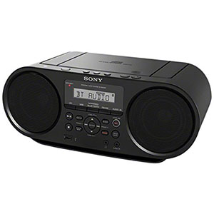 1. Sony ZSRS60BT Black CD Boombox