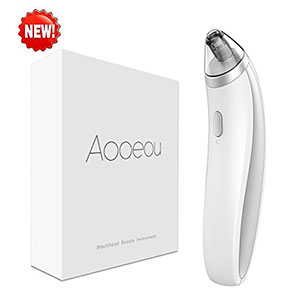 1. Aooeou Blackhead Vacuum Suction Remover Electric Facial Pore Cleanser